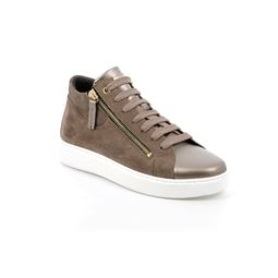 PO1506 sneaker donna pelle taupe 40