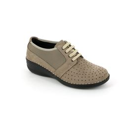 SC3209 scarpa donna pelle taupe 40