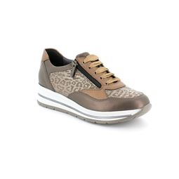 SC4741 sneaker donna pelle taupe 40