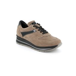 Sneaker in camoscio Made in Italy