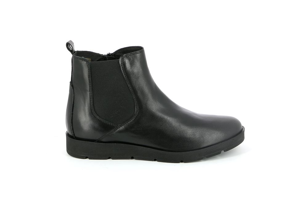 Boot Nero Black Woman Grünland Po1139 ® Pars Leather Ankle wBOdqYw
