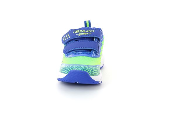 SCARPA  BAMB.  S. LIME-ROYAL - Fronte