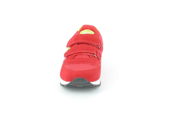 SCARPA  BAMB.  S. ROSSO-LIME - Fronte