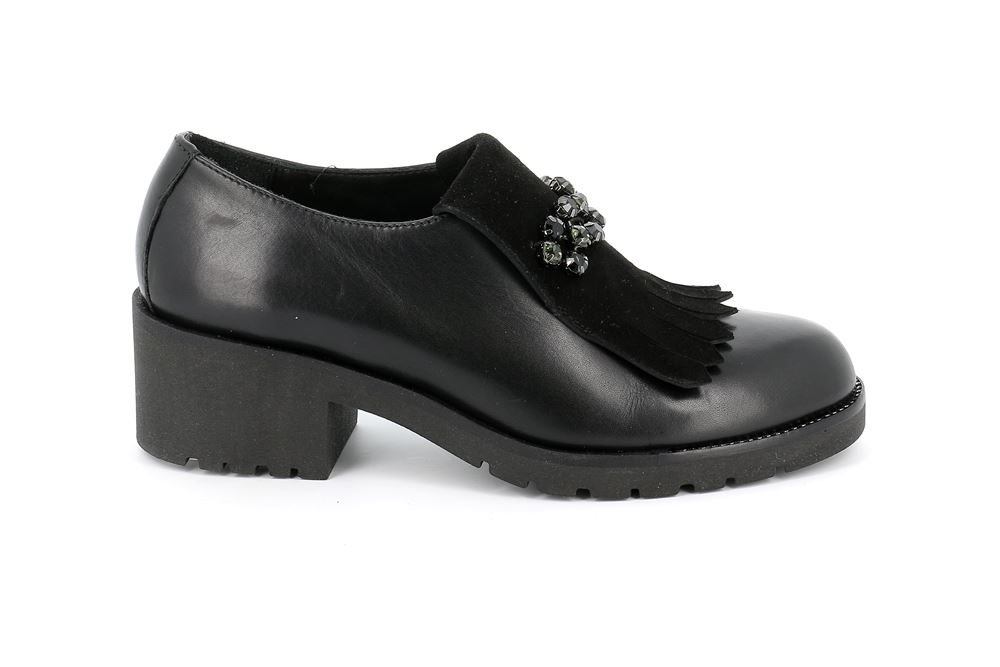 on sale 377f5 5c581 Scarpa da donna in pelle nero - TALI SC4771 COLORE NERO ...