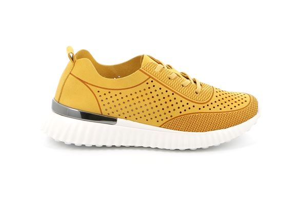SCARPA  DONNA  S. Yellow - Fianco DX