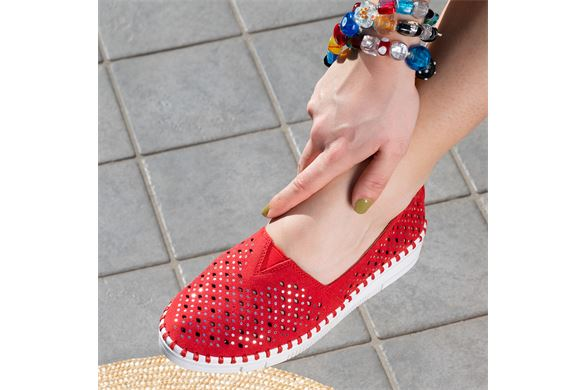 SCARPA  DONNA  S. Red - Fronte
