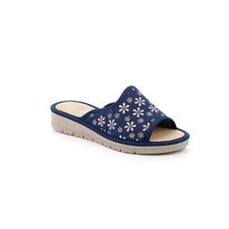 CI1751 slipper woman fabric blue 40