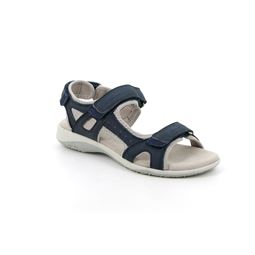 SA1171 sandal woman leather and synthetic blue 40