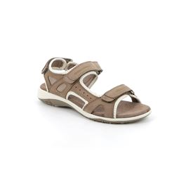 SA1171 sandal woman leather and synthetic grey 40
