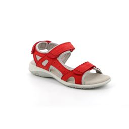 SA1171 sandal woman leather and synthetic red 40