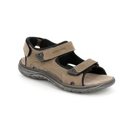 SA2317 sandal man leather fango 40