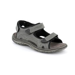 SA2317 sandal man leather grey 40