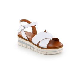 SA2347 sandal woman leather white 40