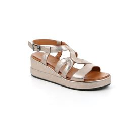 SA2360 sandal woman leather peltro 40