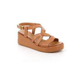 SA2361 sandal woman leather cuoio 40