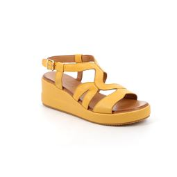 SA2361 sandal woman leather yellow 40