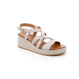 SA2361 sandal woman leather grey 40