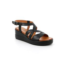 SA2361 sandal woman leather black 40