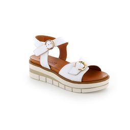 SA2367 sandal woman leather white 40