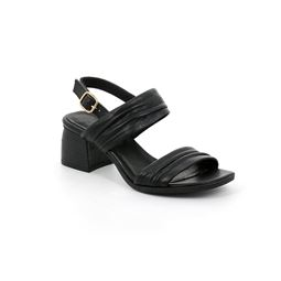 SA2369 sandal woman leather black 40