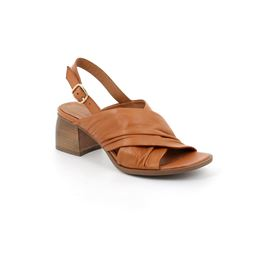 SA2370 sandal woman leather cuoio 40