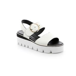 SA2395 sandal woman leather white 40
