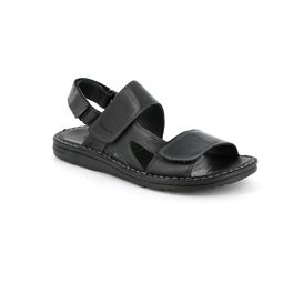 SA2461 sandal man leather black 40