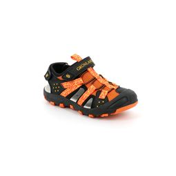 SA2464 sandal children synthetic arancio nero 40