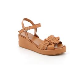SA2468 sandal woman leather cuoio 40