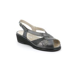 SA2528 sandal woman leather asfalto 40