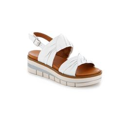 SA2540 sandal woman leather white 40