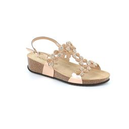 SB1595 sandal woman synthetic cipria 40