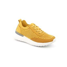 SC4906 sneaker woman synthetic yellow 40