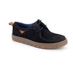SC5034 shoe man leather blue 40
