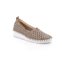 SC5137 shoe woman synthetic taupe 40