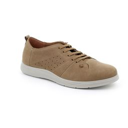 SC5198 shoe man leather taupe 40