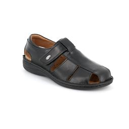 Sandal man leather