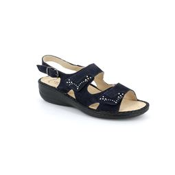 SE0432 sandal woman suede blue 40